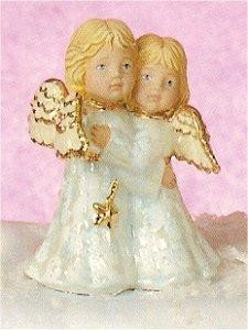 """Small Hugging Star Angels 4.5""""T"""