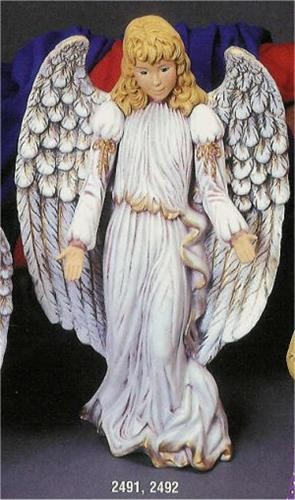 "Lg. Standing Kimple Angel 14.5""T"