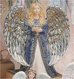 "Angel Pearl Renaissance 14""T"