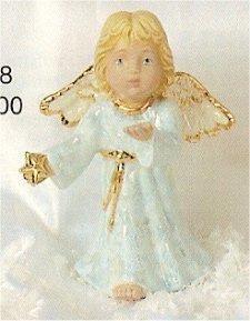 "Angel w/Star Blowing Kisses 4.5""T"