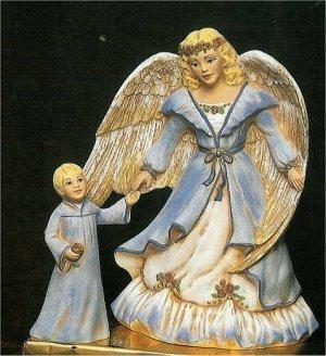 """Angel w/Boy 9""""T"""