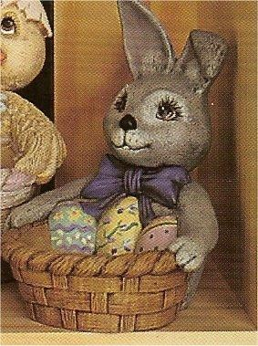 """Bunny Basket 6 x 8""""T"""