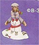 "Village Boy on Snowman 3.5""t"