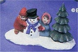 """Building A Snowman 4.5 L x 3""""t"""