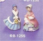 "Village Two Ladies Set  3""t"