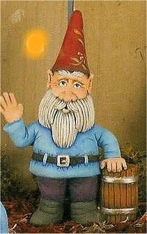 """CPI Gnome & Barrel 10""""T"""
