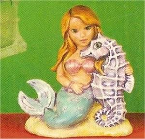 """Sea Horse Mermaid 5.5""""t"""