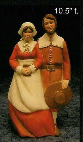 """CPI Pottery Pilgrims 10.5""""T"""