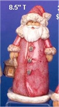"CPI Santa w/Lantern 8.5""t"