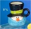 """CPI Snowman Mug 5""""t"""