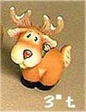 """Tubby Deer Standing 3""""t"""