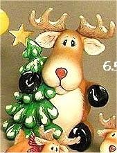 """CPI Tubby Deer 6.5""""t."""
