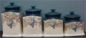 """French Ctry Canister Set 6""""w"""