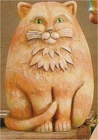 "Small Cat Watcher 9.25""T"
