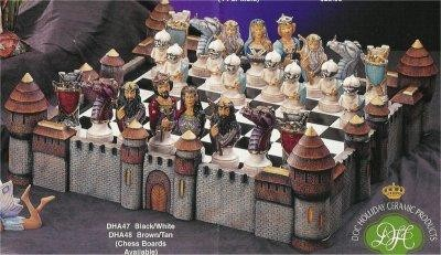 Dragon Lore Chess Set Board included