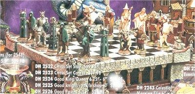 Middle Earth Chess Figures Only
