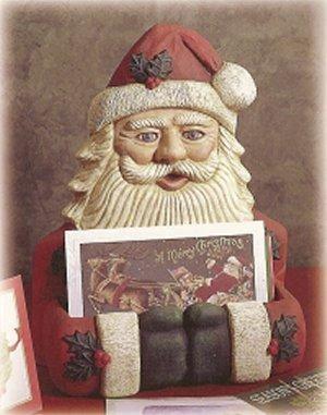 """Santa Card Holder 12x10"""""""