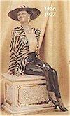 Classic Lady Sitting