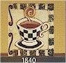 "Coffee Cup Tile 6""x6"""