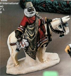 """African Santa on Mule 11""""L"""