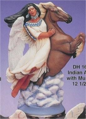"""Angel w/Mustang 12.5""""T"""