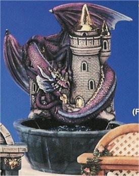 "DH Castle/DragonFountain 17""T"
