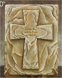 "Bible Box Cross 9.25x12"" Lid Shown"