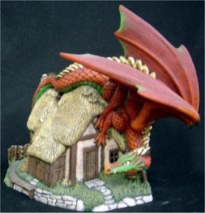 "DH Curiousity Dragon 10 x 10.5"""