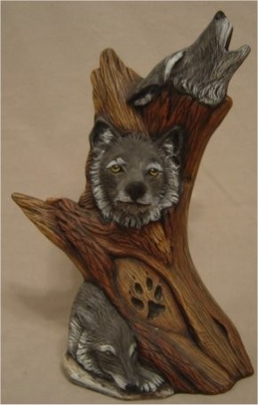 """DH Driftwood Wolves 11""""t"""