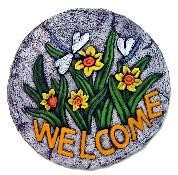 """Welcome Dragonfly Slab/Plaque 11"""""""
