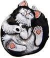 "DH Roscoe Cat  Plaque/Stone 9"""