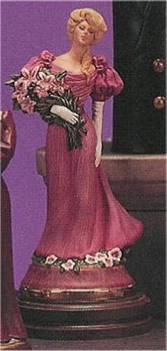 "Victorian Lady w/Flowers 12.5""t"