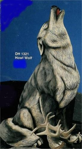 "DH Howling Wolf  21,5""T Antlers Not Included"