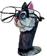 Cat Eyeglass holder 6x4""