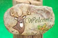 """Deer Slab 10x6.5"""""""