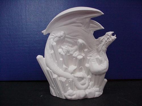 """Sm.Winter Dragon 7.5""""t"""