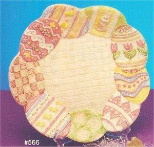 """Easter Egg Platter 11.5""""w"""