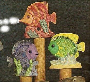 "Tropical Fish Set 3""T"