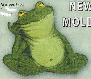 """Frog w/Hand on Mouth 5"""""""