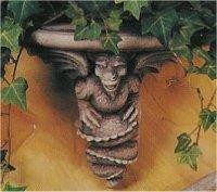 "Dragon Gargoyle Shelf 11""d"