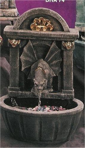 "Gargoyle Fountain 17""T"