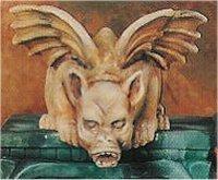 """Shelf Sitter Gargoyle 6.5""""L"""