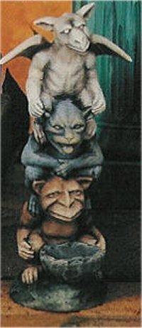 """Gargoyle Totem 10.5""""T"""