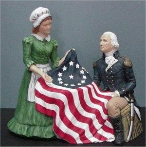 """Betsy Ross & George 9"""""""