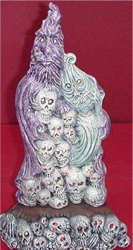 """Ghost Family & Skulls 17""""tall"""