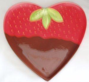 """Heart Plate 11"""""""