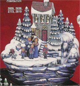 """Winter Fountain 11""""H"""