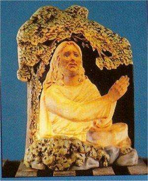 """Jesus In Garden 10.5""""t"""