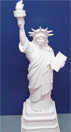 "Gare's Statue of Liberty 31.5""H"