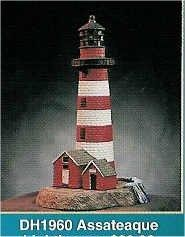 "Assateaque Lighthouse 11""T"